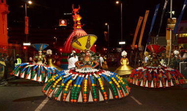 African Queens provided by Cape Town Carnival.