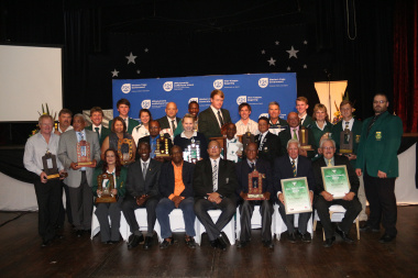 All the proud award winners of the Eden Sports Awards