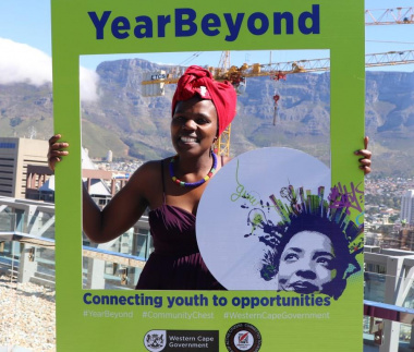 An emotional Ikho Bungu is on her way to the University of Stellenbosch