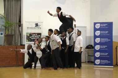 An emotional performance by Indoni Dance Academy