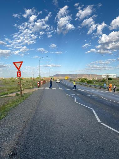 A N1 Crossing