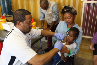 Mr Terrence O'Rie Vaccinates
