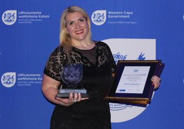 Anzel Laubscher was crowned 2017 Western Cape Sportwoman of the year