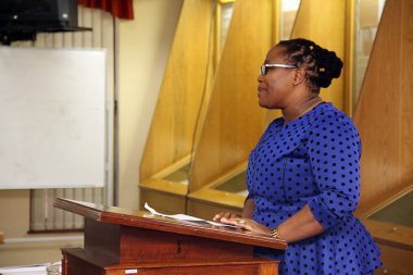 Archives Director Nomaza Dingayo welcomed all to the launch of the annual Archives Awareness Week in the Western Cape