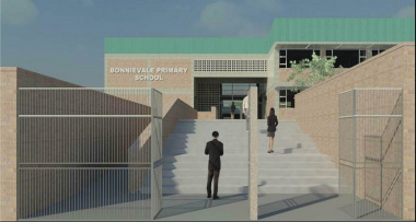 Artist's impression of the new Bonnievale Primary School.