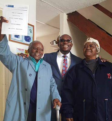 Belhar residents receive Title Deeds