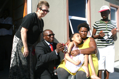 Human Settlements Minister Makes Good on Promise of Home For Delft Family