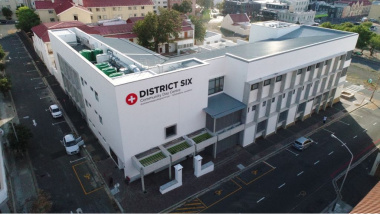The new District Six CDC was built on the grounds of the old PMH.