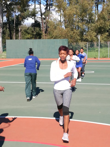 Athletes from across the province learn basic ball skills in Paarl