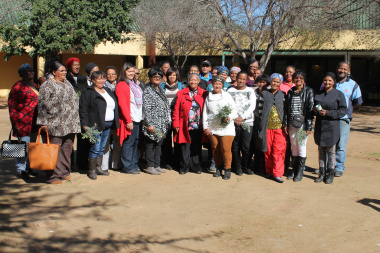 Attendees at the Women's Day programme presented at the Worcester Museum