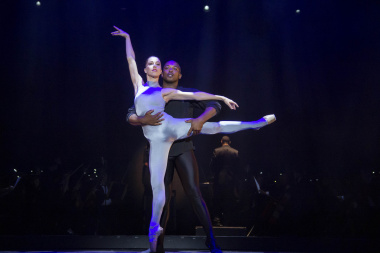 Ballet dancers displayed their skills during the evening of the 18th Cultural Affairs Awards at Artscape