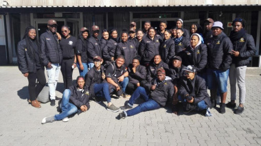 Beaulla Stofile, DCAS Arts Development, accompanied the youth from the Western Cape to Gauteng