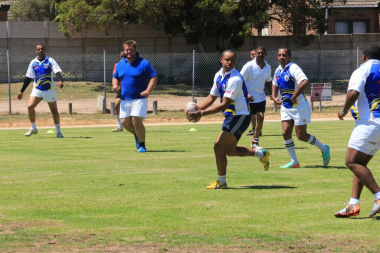 Bergriver Municipality vs the Department of Health during an exciting game of touch rugby