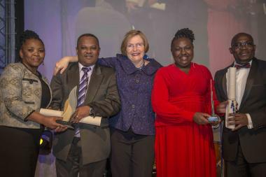 Best Overall Batho Pele Public Servant: Judiac Ranape and Michael Collison