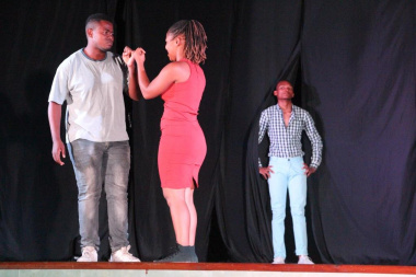 'Beyond Actors' kept the audience entertained during their production of 'Angel Blood'