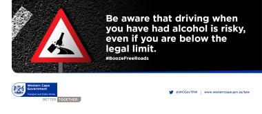 Booze Free Roads flyer