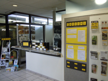 Brackenfell Public Library's winning exhibition for the theme Architecture