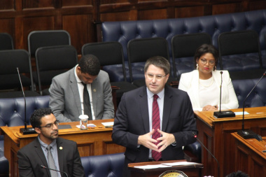Minister Maynier delivers the Western Cape Budget 2020