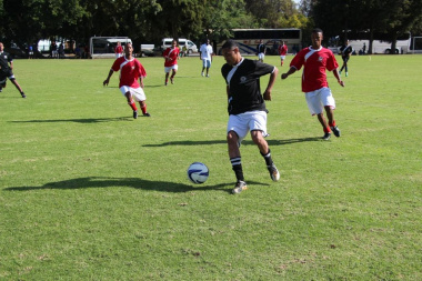 Cape Winelands 1 and 2 in a football semi-final