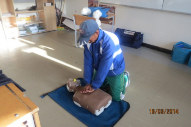 Cardiopulmonary resuscitation (CPR) training for coaches
