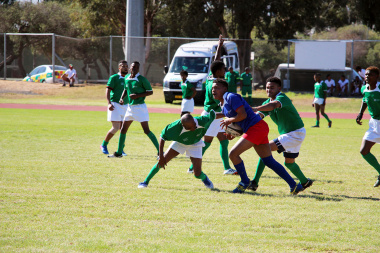 Central Karoo pitted their strength against Lower West Coast in a well-played rugby match