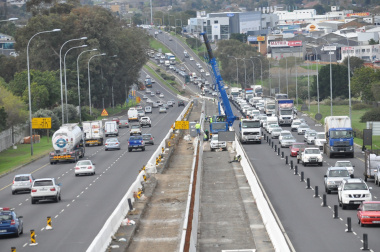Construction on the N1.