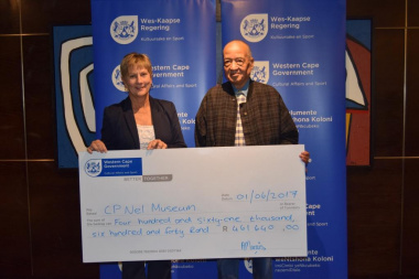 CP Nel Museum received annual funding from DCAS at the Museum Symposium in Cape Town