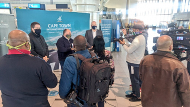 Cape Town International Airport is ready to welcome international travellers