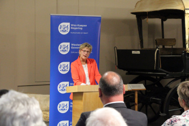 DCAS Minister Anroux Marias delivered the keynote speech at the launch of the Museum Route Brochure