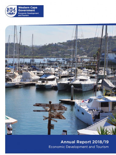 Western Cape Government: Economic Development and Tourism Annual Report 2018/19