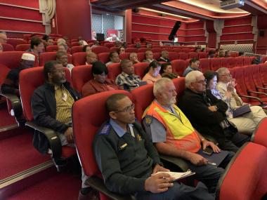 Delegates in attendance