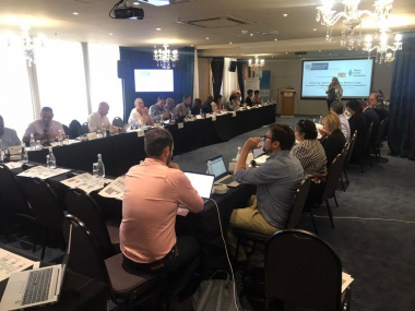 Delegates at the workshop with Hanns Seidel Foundation in Cape Town