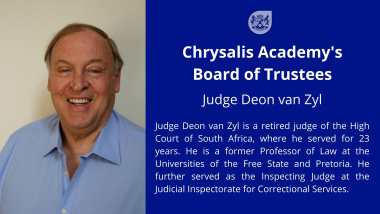 Judge Deon van Zyl is a retired judge of the High Court of South Africa, where he served for 23 years.