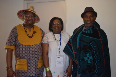 DCAS Director Arts, Culture and Language Jane Moleleki welcomed representatives on arrival at the Initiation Consultative Meeting in Cape Town
