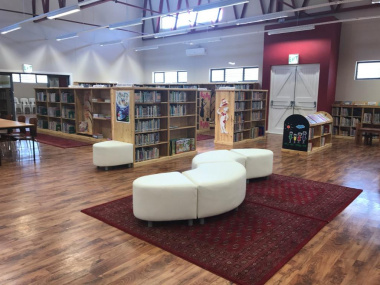 Cecilia  Sani used the Ashbury Library as a setting example of a friendly and accessable place for people of all ages