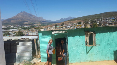Door to door in Stellenbosch