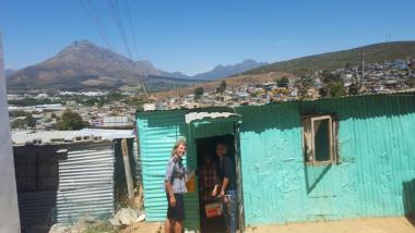 Door to door in Stellenbosch