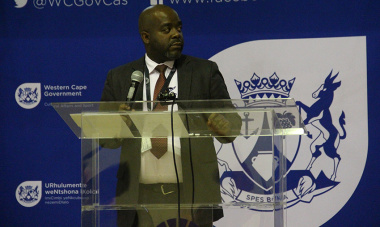 Dr Mxolisi Dlamuka, head of Heritage Western Cape, was the programme director at the unveiling.