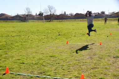 Drie Stokkies athlete going for gold at the Western Cape Sport School in Kuils River prior to the national Indigenous Games in Limpopo