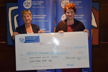 Drostdy Museum received annual funding from DCAS at the Museum Symposium in Cape Town
