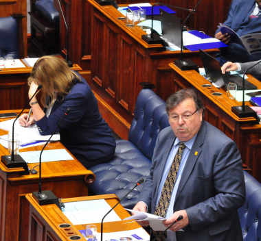 Minister Grant delivered his budget speech on 27 March 2019.