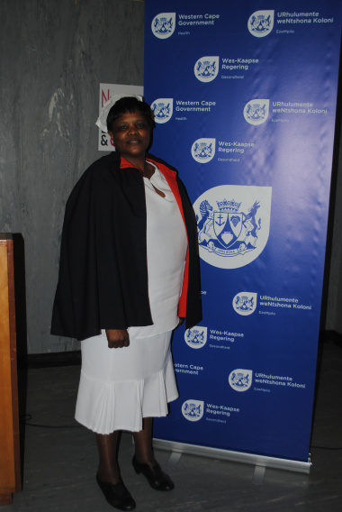 Tygerberg Hospital's very own Florence Nightingale, Ms Bertha Bailey from the Nephrology Department.
