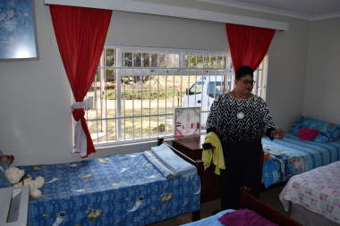 Minister Fernandez visits DSD funded Safe houses in recognition of International Women's Day