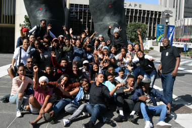 Exciting aspiring starts of the DCAS Drama Fstival competed at the Suidoosterfees at Artscape