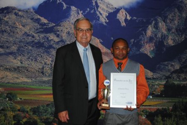 Hex River Farm Worker of the Year 2012