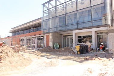 FPS facility construction outside