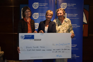Fransie Pienaar Museum received annual funding from DCAS at the Museum Symposium
