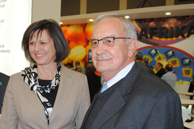 German Minister of Agriculture and Minister Van Rensburg