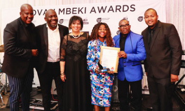 Best Established Woman Contractor In The Subsidy Market - Winner - Nokhanya Services (Pty) Ltd