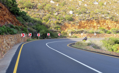 Gordhans Bay roadworks